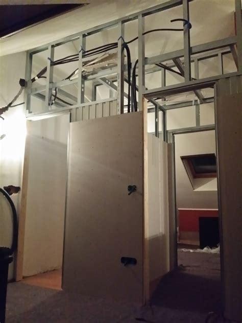 cabine armadio cartongesso foto foto divisione mansarda in 2 camere 1 cabina armadio e