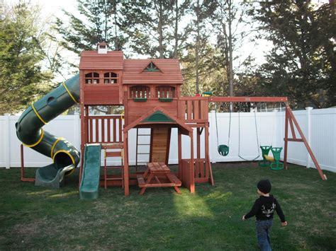 backyard swing sets plans throughout big backyard swing