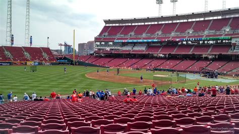 great american ballpark section 135 reds ballpark seating chart brokeasshome com