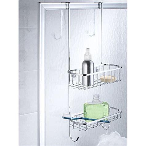 accessori per doccia acciaio interdesign portaoggetti doccia in acciaio inox per porte