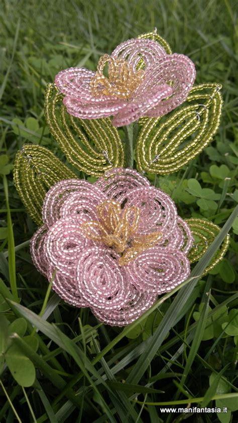 fiori di perline tutorial tutorial fiori di perline la camelia manifantasia