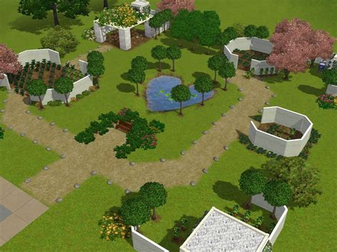 sims 3 backyard ideas 100 sims 3 backyard garden ideas mod the sims