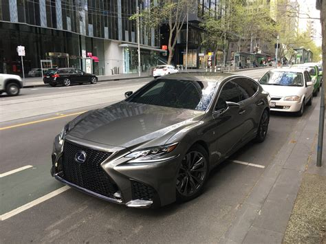lexus ads 2017 2018 lexus ls caught while filming commercial in melbourne
