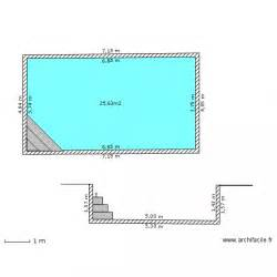 design plan avec piscine interieure marseille