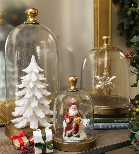 Alte Schlittschuhe Dekorieren by Glasglocke Dekorieren Zu Weihnachten 18 Sch 246 Ne Ideen