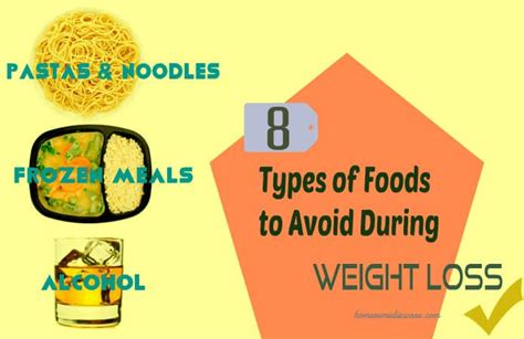 6 Types Of Diet Which Ones Right For You by 8 Types Of Foods To Avoid During Weight Loss Say No To