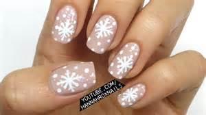 nail art designs winter snowflake nail art