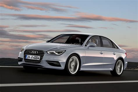 Audi A4 2014 by 2014 Audi A4 B9 Rendering Released Autoevolution