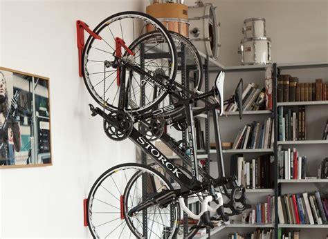 bmx garage endo fold flat vertical bike storage system by cycloc