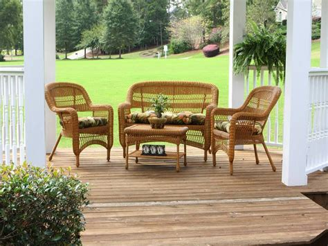 southwest outdoor furniture tortuga portside southwest wicker conversation set ps 3379