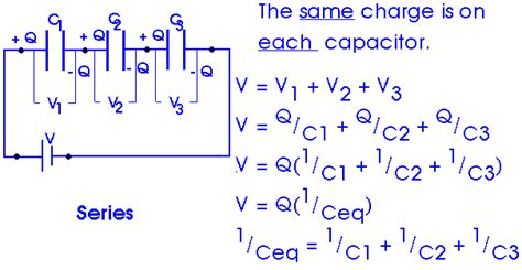 capacitor in series equation 2008
