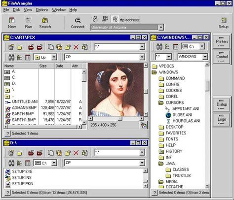 video file format archive file extension zap filewrangler archive