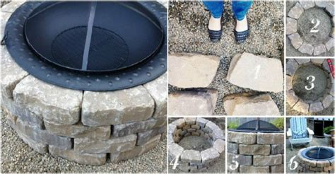 how to build a fire pit in the backyard how to build a fire pit at home how to instructions