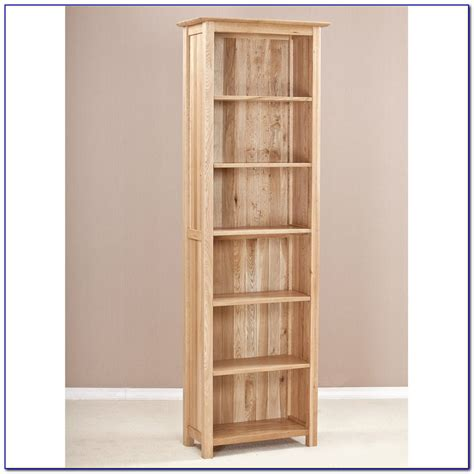wood narrow bookshelf bookcase home decorating ideas