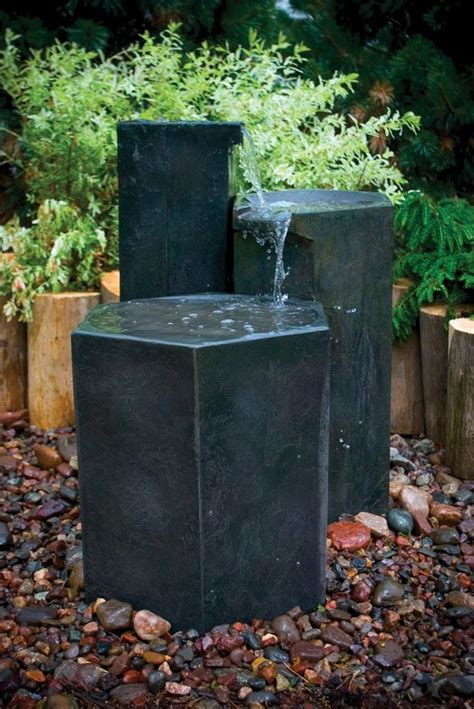 aquascape fountains formal basalt column set fountain fountain fiberglass