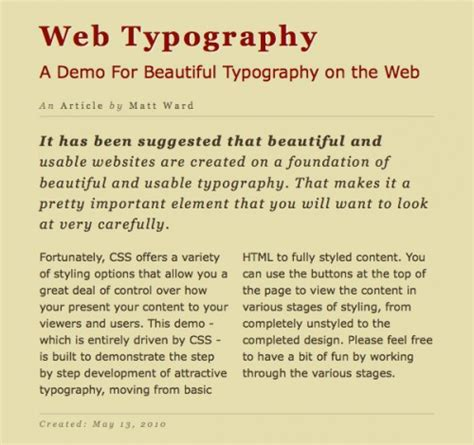 css3 typography 15 amazing css3 text effects