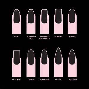 Long Nail Beds 10 Nail Shapes To Flatter Your Fingers Inside Edge