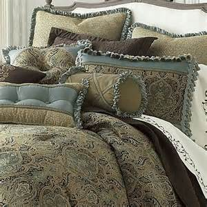 jcpenney queen comforters new jcpenney villa gold blue green jacquard medallion
