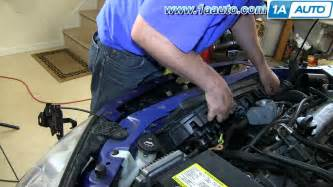 2007 Pontiac G6 Thermostat Replacement How To Install Replace Radiator Cooling Fan Pontiac G6 2