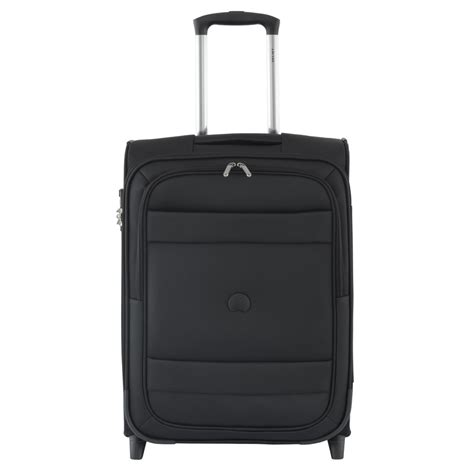 delsey trolley cabina trolley delsey cabina slim 55 indiscrete 2 ruote nero