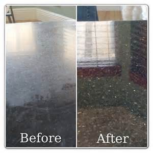 polishing granite countertop before and after portfolio marble granite cleaning