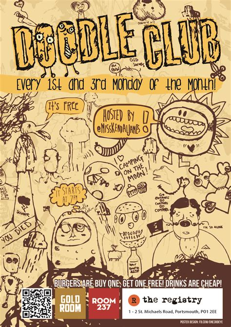 doodle club uk doodle club poster strong island