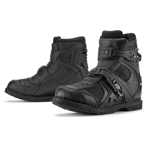 Sepatu Safety Boot Nichelin icon field armor 2 boots 20 40 00 revzilla