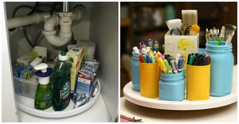 lazy susan organization 15 clever ways to get organized with a lazy susan