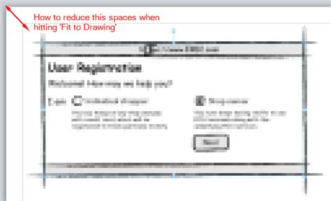 visio 2010 fit to page how to modify margin spaces for visio drawing when using