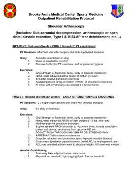 Outpatient Detox Protocol by Shoulder Protocol