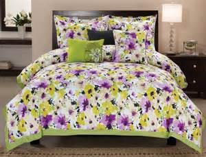 yellow and purple bedroom yellow bedding bedroom decor ideas