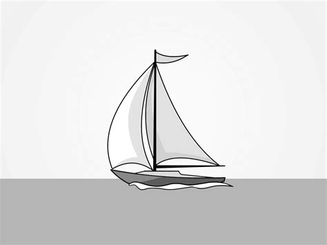tiny boat drawing sailing boat drawing for small tattoo pinterest