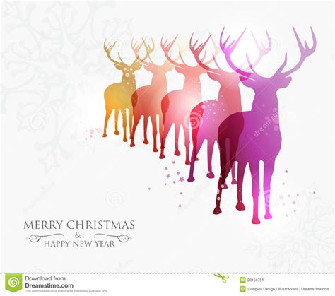merry christmas modern merry christmas contemporary ideas stock vector