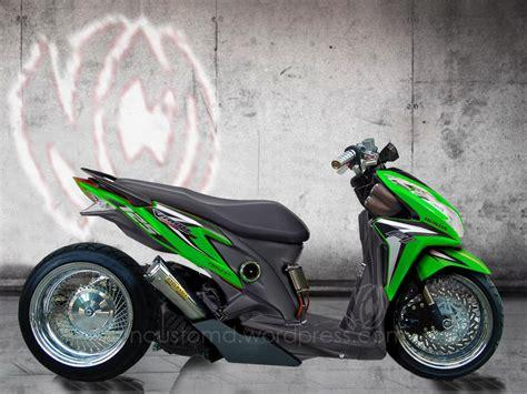 Lu Led Vario 110 Cw desain inspirasi modif honda techno 125 pgm fi oto2 s custom