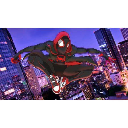 spider man miles morales personalized birthday edible frosting image  sheet cake topper
