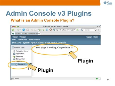 glassfish admin console glassfish v3 lite admin console