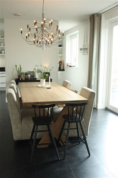 Houzz Dining Rooms by Houzz Sophisticated Family Home Breathes Scandinavian
