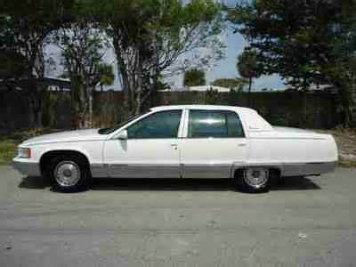 96 Cadillac Fleetwood Brougham by Sell Used Florida 96 Cadillac Fleetwood Brougham 74k