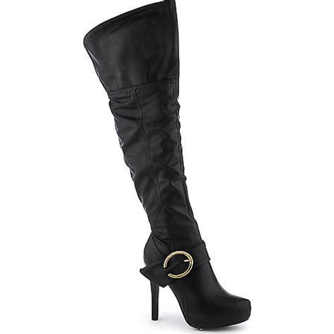 cleopatra womens thigh high boots macy high heel boots