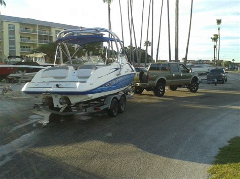yamaha boat motor hours yamaha sx 230 ho w trailer only 99 hours on motors we