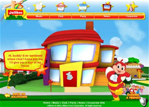 jollibee wallpaper background click your way to jollitown via www jollitown com ph