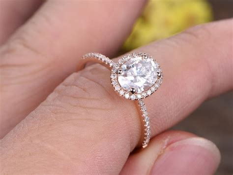 1 5 carat oval ring gold 1 5 carat oval moissanite engagement rings 14k
