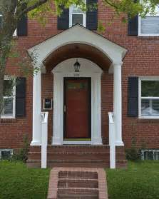 Front Porches And Porticos Traditional Porch Dc House Plans With Arched Porch