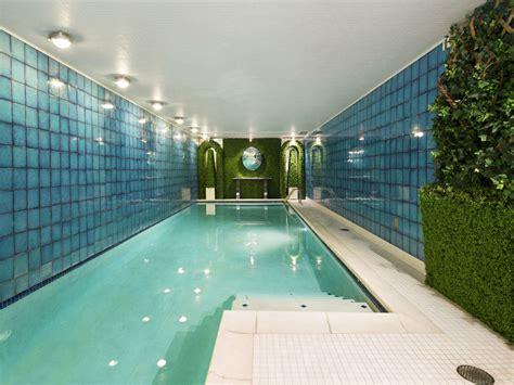 elegant manhattan townhouse with indoor swimming pool