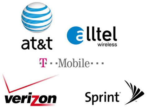 list of cellular phone companies security guards companies