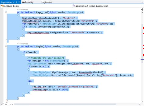 creating asp net login page using oracle providers for asp net