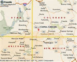 map cortez colorado my