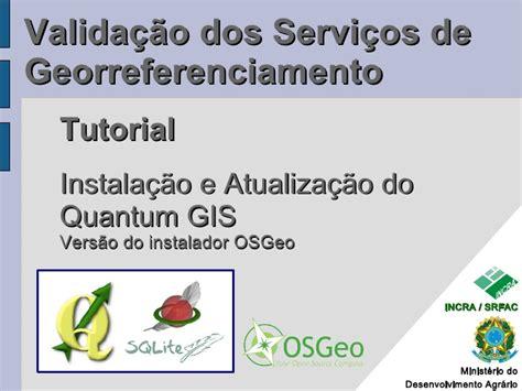 tutorial qgis 2 18 tutorial 2 instala 231 227 o do qgis os geo v2