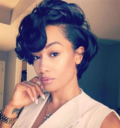beautiful black women short hairstyle with sideburns gallery best 25 short black hairstyles ideas on pinterest bob