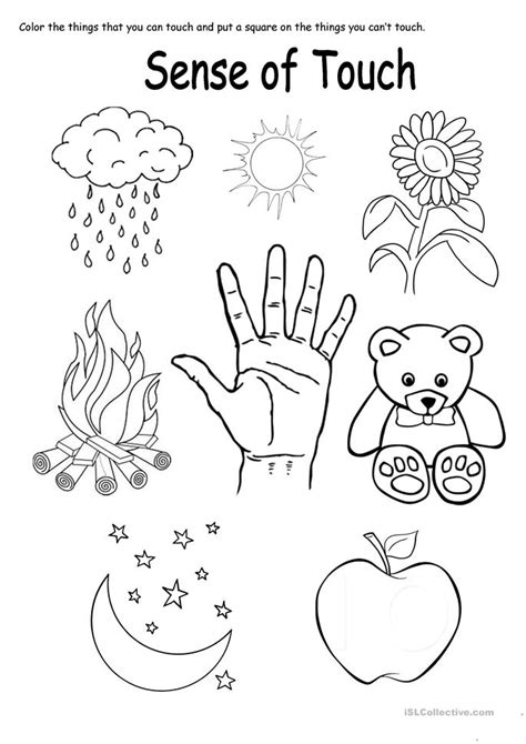 coloring book touch bad touch sense of touch worksheet free esl printable worksheets